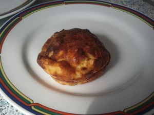 Einsamer Muffin